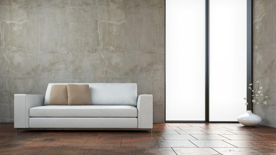 Betonfußboden Wohnzimmer ~ Betonwand wohnzimmer. gallery of dieses moderne wohnzimmer verfgt